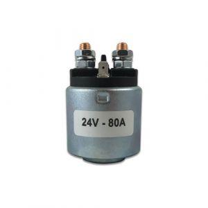 Iskra starter solenoid kit - 24v