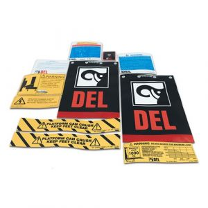 Decal Kit C/W Flags, DL1000