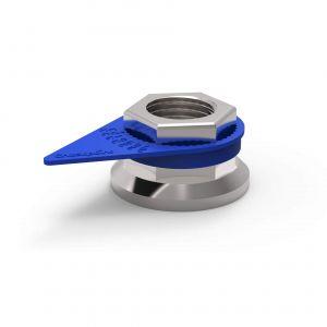 Checkpoint Wheel Nut Indicators - Blue