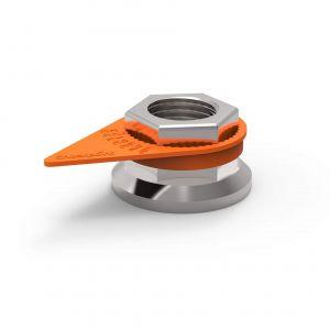 Checkpoint Wheel Nut Indicators - Orange