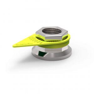 Checkpoint Wheel Nut Indicators - Yellow