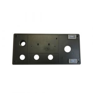 Front panel for control box