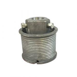 Left Hand Cast Aluminium Cable Drum