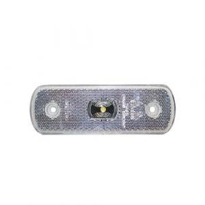 24v LED Clear Front Marker Lamp
