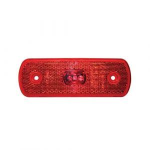 24v LED Red Rear Marker Lamp